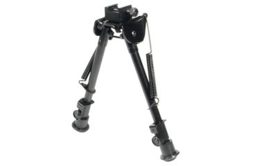 1-Leapers UTG Tactical OP Bipod w/ Picatinny and Swivel Stud Mount