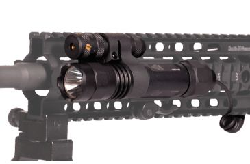 Leapers UTG Tactical Weapon Light & Red Laser Sight w/ Integral QD Mount LT-ELP38Q