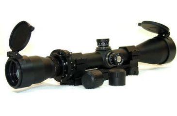Leather Wood Hi-Lux 3-9x40mm M-600 Camputer Auto Ranging TAKTIKAL Rifle Scope LART39X40TAK