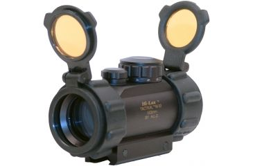 Leatherwood / Hi-Lux Optics 1x30mm Red Dot Tactical Sight w/ Integral Mount & Rubber Edge Guards ES1X30TP