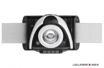 LED Lenser SEO5 Headlamp, Grey 880128