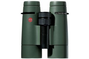 40266 Leica Ultravid 8x42 BR Binoculars, Green Rubber Armored