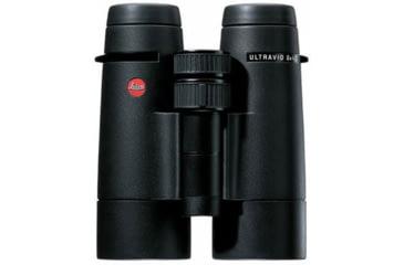 40261 Leica Ultravid 8x42 BR Binoculars, Black Rubber Armored
