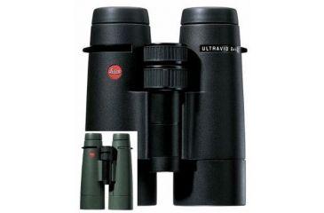 Leica 8x42 UltraVid BR Binoculars BL / Black Leather 40271