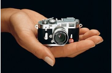 "Minox DCC Leica M3 Plus 5 MP Classic Digital Camera w/ 1.5"" LCD Monitor 60635"