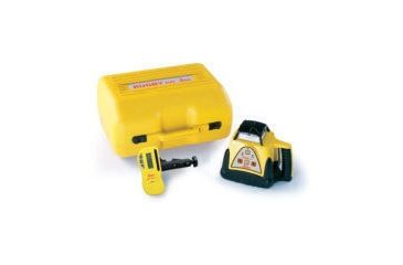 Leica Geosystems Rugby 100 GC General Construction Laser Package w/ Rod-Eye Pro Detector & Alkaline Batteries 731558