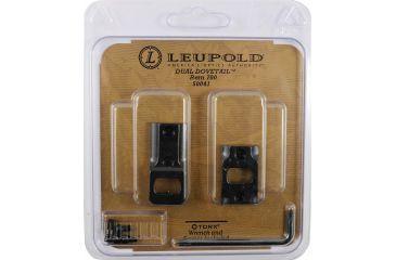 Leupold Dual Dovetail DD Base, 2 Piece, Gloss Black 50041