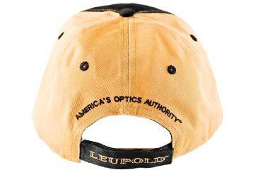 Leupold Black/Gold Twill Cap