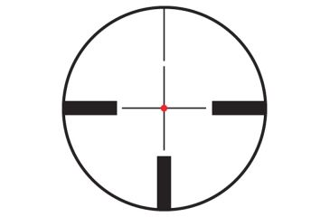 Illuminated German 4 Dot Reticle