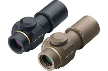 Leupold Prismatic 1x14 Riflescope with Illuminated Double Circle Dot Reticle - Matte / Dark Earth 66170 66175 Rifle Scope