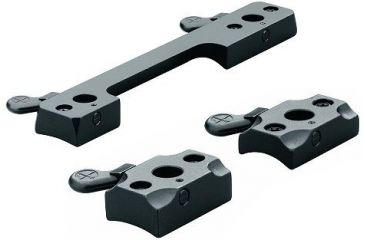 Leupold 52143 Quick Install Bases For Smith & Wesson Matte Black Finish
