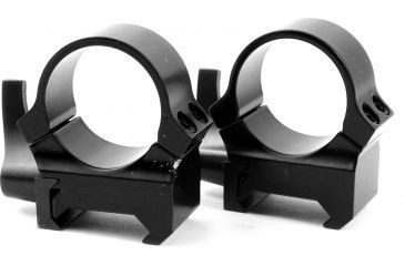 Leupold Quick Release Weaver Style Rings, High, Gloss Black 49857