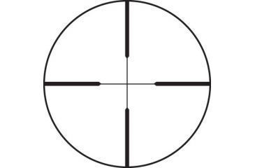 4-Leupold FX-II 2.5x20mm Rimfire/Ultralight Rifle Scope