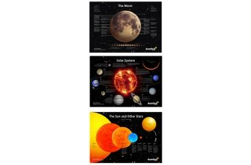 Levenhuk Space Posters Set, Black, Small 16652