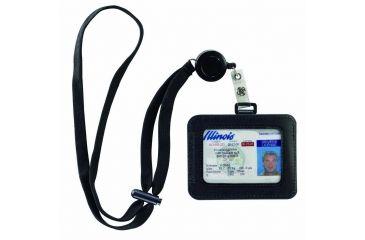 Lewis N Clark RFID ID Holder, Black 1241