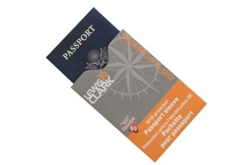 Lewis N Clark RFID Passport Shield 1207