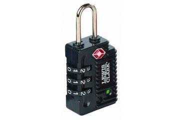 1-Lewis N Clark Travel Sentry Indicator Combo Lock w/ Status Alert
