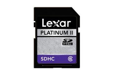 Lexar Media 16GB Platinum II Secure Digital Card - 60x LSD16GBSBNA060
