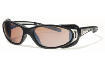 Liberty Sport Suns CHOPPERProtective Eyewear Matte BlackFrame,Rose Amber Lens, Unisex CHOPPRMBSS6117140DSL