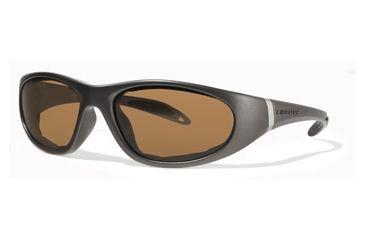 Liberty Sport Suns ESCAPADE 1 Protective Eyewear Matte Grey Frame,Amber w bronze flash Lens, Unisex ESCAP1MTGR6018135HCL