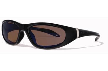 Liberty Sport Suns ESCAPADE 2 Protective Eyewear Shiny Black Frame,Bronze Polar Lens, Unisex ESCAP2SHBK6018135BPL