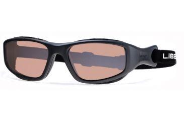 Liberty Sport Suns TRAILBLAZER 2 Protective Eyewear Matte Slate Frame,Rose Amber Lens, Unisex TRAIL2MTSL5919DSL