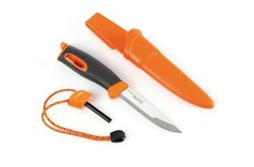 Light My Fire Swedish FireKnife with Firesteel, Orange 172545