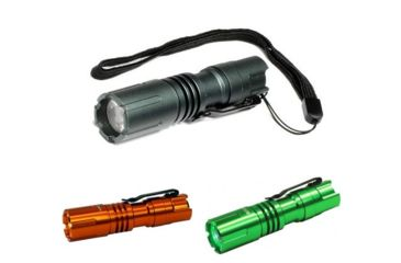 2-Lightstar100 Flashlight 110 Lumens + Strobe (Batteries Incl.)