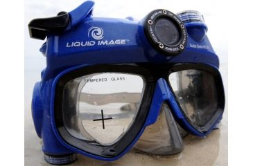 Liquid Image Scuba 5 HD Mask, Blue, XL