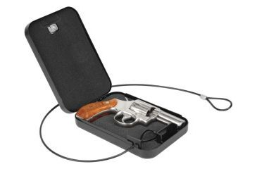 Lockdown Handgun Security Vault w/Combo Dial, Compact 222669