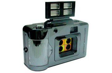 Lomography ActionSampler Flash 4-lens 35mm Film Camera Shipping