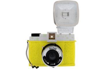 Lomography Camera Diana F+ Glow in the Dark w/ flash