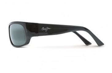 Maui Jim Longboard Sunglasses w/ Smoke Grey Frame and Neutral Grey Lenses - 222-11, Side View