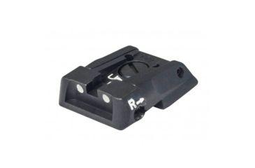 1-LPA Adjustable White Dot Sight - MPS2 (Baby-eagle, H&K Jericho, Striker)