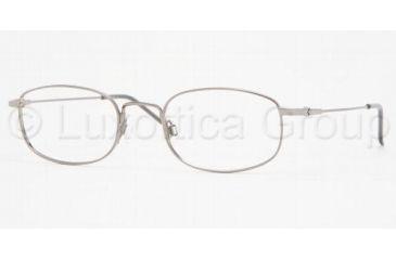 Luxottica LU 6527 Eyeglasses Styles Gunmetal Frame w/Non-Rx 50 mm Diameter Lenses, 3001-5020, Luxottica LU 6527 Eyeglasses Styles Gunmetal Frame w/Non-Rx 50 mm Diameter Lenses
