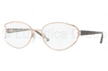 Luxottica LU2301B Bifocal Prescription Eyeglasses T432-5118 - Shiny Copper Frame