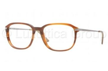 Luxottica LU3209 Single Vision Prescription Eyeglasses C536-5217 - Dark Steel Frame