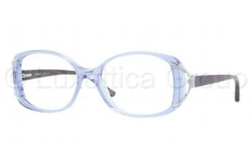 Luxottica LU4337B Single Vision Prescription Eyeglasses C544-5216 - Dark Steel Frame