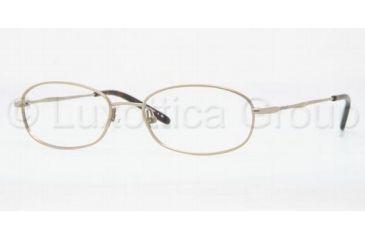 Luxottica LU6559 Single Vision Prescription Eyewear 3061-5217 - Gold