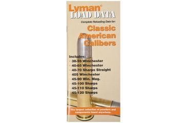 Lyman Load Data Book for Classic Rifle Calibers 9780020