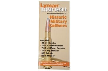 Lyman Load Data Book for Old Military Calibers 9780016