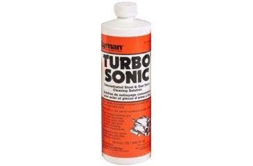 Lyman Turbo Sonic Gun Parts Cleaning Solution, 32 fl oz, 7631715