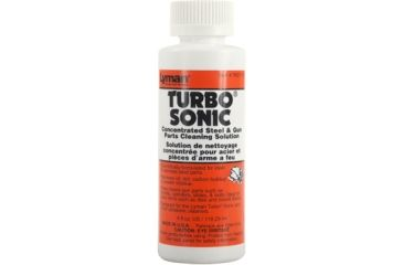 Lyman Turbo Sonic Gun Parts Cleaning Solution, 4 fl oz, 7631712
