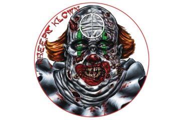 Lyman Zombie Dots Targets Kreepy Klown Eight Inch Diameter 10 Per Pack