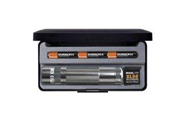 Mag Instrument XL 50 LED Flashlight w/Strobe, Display Box, Gray S3097