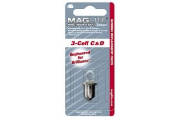 Mag Instrument Maglite C&D Replacement Mag-Num Star Xenon Bulbs / Lamps (Optional)