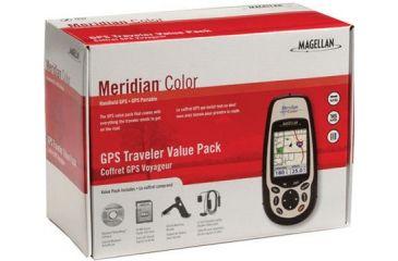 Magellan Portable GPS Receiver Meridian Color Traveler - 980598-40