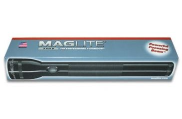 Maglite 6D Cell Black Flashlight in Display Box S6D015