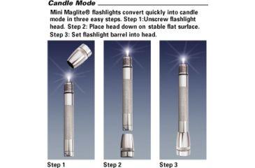 MagLite Mini MagLite AAA Incandes. Flashlight, Black - Pres. Box M3A012