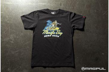 Magpul Industries Surf Club T-Shirt BLK XL MPIMAG610-BLK-XL